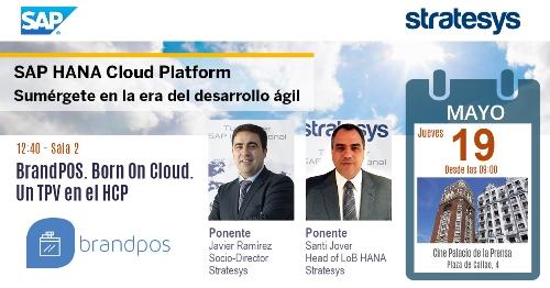 Stratesys - Evento SAP HANA Cloud Platform - MAD 19 MAY 2016