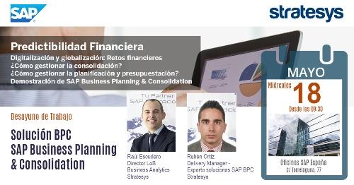 Desayuno Informativo SAP - Predictibilidad Financiera