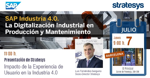 Stratesys - Evento SAP para la Digitalización en Producción - BCN 7-JUL