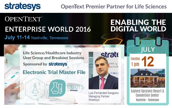 Stratesys - Evento Enterprise World 2016 - 12 JUL2016