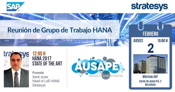 STR-Reunión GT AUSAPE - HANA - 02 FEB 2017