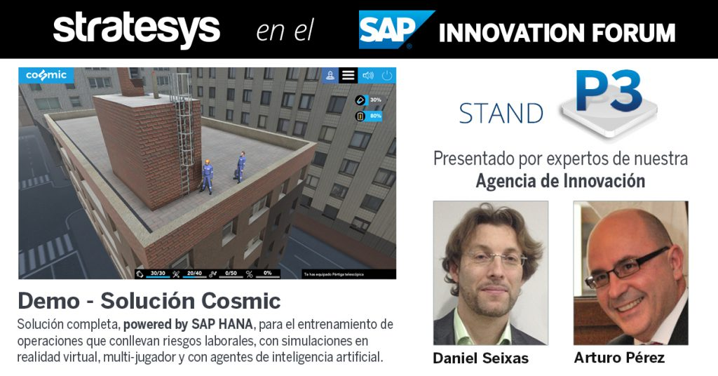 Stratesys - SAP FORUM 2017 - DEMO STAND - Cosmic - 20 ABR 2017 - 2