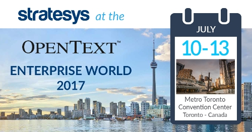 Stratesys - OTEW 2017 - 10-13JUL2017