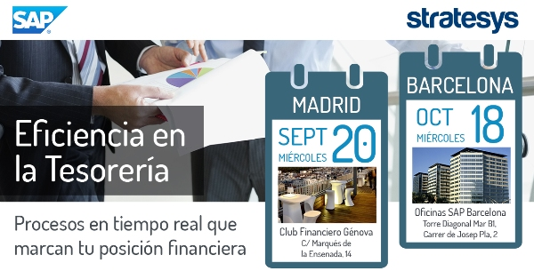 EVENTO Jornadas de Eficiencia en la Tesorería MAD 20SEPT - BCN 18OCT