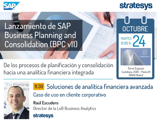 EVENTO BPC - Ponencia Stratesys - MAD 24 OCT 2017